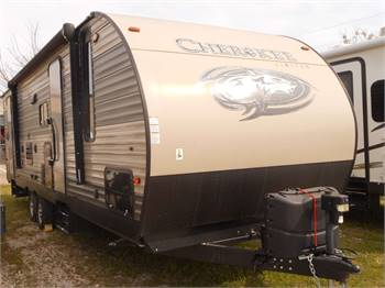 Travel Trailer - 1 Slide - 31' Greywolf Bunks - RV Rental
