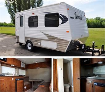 Grand Forks AFB Outdoor Recreation, Camper Rentals