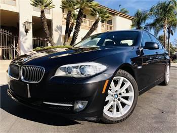 2013 BMW 528i Turbo XDrive Navy Fed