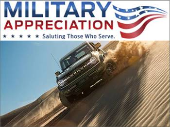 NEW *New 2022 Ford Bronco *New - Special Military Pricing