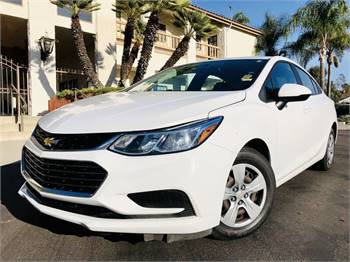 2018 Chevrolet Cruze 6-speed Manual