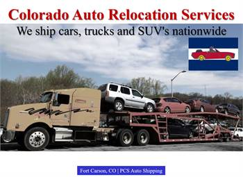 Colorado Auto Relocation Services