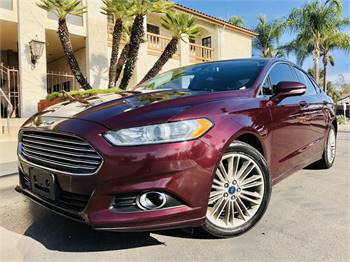 2013 Ford Fusion Turbo Navy Fed