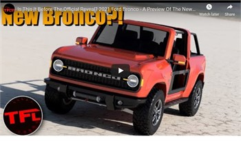 Ford Unveils New Bronco This Spring - But LOOK   VIDEO