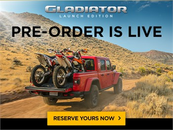 Jeep Offers Exclusive 'Gladiator Launch Edition'   WATCH VIDEO